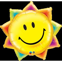 Folie fig smiley soare, Qualatex 26531