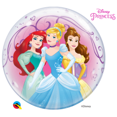 Bubble 56 cm / 22'' Printese Disney, Qualatex 46725