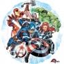 Balon folie 45cm Avengers rotund, Amscan 34655
