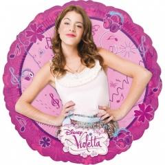 Balon folie 45 cm Violetta, Amscan 28041
