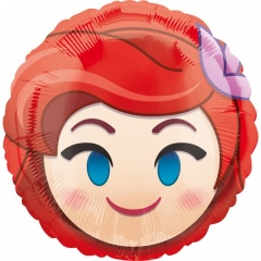 Balon folie 45 cm Ariel Emoticon, Amscan 36371