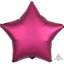 Balon folie 45 cm stea Satin Luxe Pomegranate, Amscan 36829