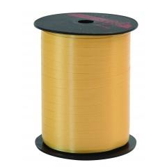 Rafie Sunshine Yellow pentru legat baloane latex sau folie - 500 m, Qualatex 25897, 1 rola