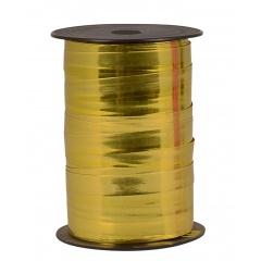 Rafie metalizata limone pentru baloane sau decoratiuni - 5 mm x 100 m, Radar B12596, 1 rola