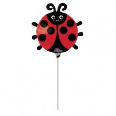 Balon mini figurina Gargarita - umflat + bat si rozeta, Amscan 32455