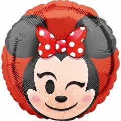 Balon folie 45 cm Minnie Mouse Emoticon, Amscan 36751