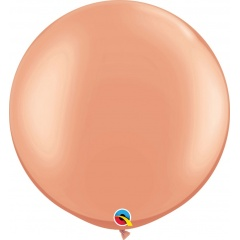 "Baloane latex Jumbo 30"" Rose Gold, Qualatex 57344, 1 buc"