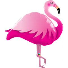 Balon Folie Figurina Flamingo - 118 cm, Qualatex 57807