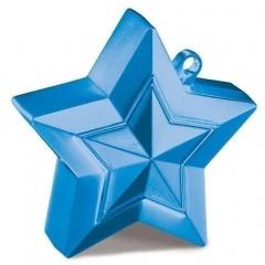 Greutate Stea Albastra pentru Baloane cu Heliu, 150 g, Qualatex 38794