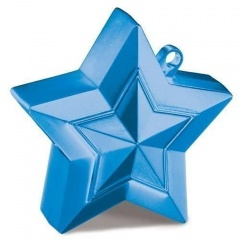 Greutate Stea Albastra pentru Baloane cu Heliu, Qualatex 38794