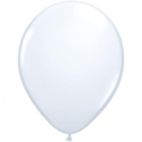 Baloane latex 26 cm, Alb 01, Tex T90.ALB