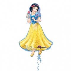Balon folie figurina Alba ca Zapada - 60 x 93 cm, Amscan 28474