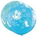 Balon Latex Jumbo 3 ft Frozen, Qualatex 49578, 1 buc