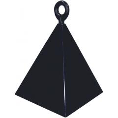 Greutate pentru baloane forma piramida - negru, Qualatex 14428