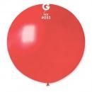 Balon Latex Jumbo 80 cm, Red 53 Sidefat, Gemar GM220.53, set 5 buc