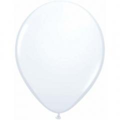 "Baloane latex 16"" White, Qualatex 43904, set 10 buc"