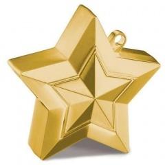 Greutate Stea Aurie pentru Baloane cu Heliu, Qualatex 38790