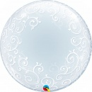 Balon Deco Bubble 24''/61cm - Qualatex 13693