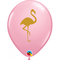 "Baloane latex 11""/28 cm Flamingo - Pink, Qualatex 57554"