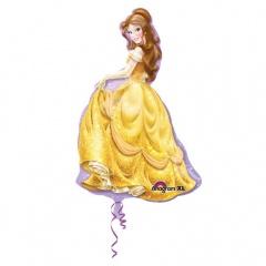 Balon folie figurina Printesa Belle - 60 x 99 cm, Amscan 28473