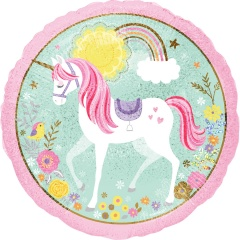Balon folie 45 cm Magical Unicorn, Amscan 36852