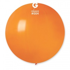 Baloane Latex Jumbo 48 cm, Orange 04, Gemar G150.04