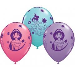 Baloane latex 11''/28 cm Princess Jasmine, Qualatex 87472, set 25 buc