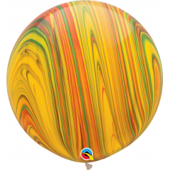 Balon Latex Superagate 30 inch (75 cm), Traditional, Qualatex 55377, set 2 buc