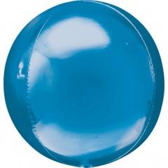 Balon folie orbz Blue - 38 x 40 cm, 28204
