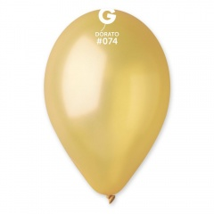 Baloane latex sidefate 26 cm, Dorato 74, Gemar GM90.74