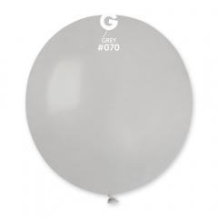 Balon Latex Jumbo 48 cm, Gri 70, Gemar G150.70