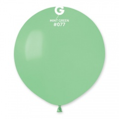 Balon Latex Jumbo 48 cm, Mint Green 77, Gemar G150.77