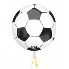 Balon Folie Orbz Sfera Minge De Fotbal - 38 x 40 cm, Radar 30685