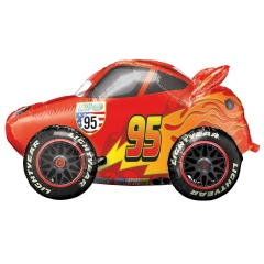 Balon Folie AirWalker Cars - Lightning McQueen, 104 x 68 cm, Radar 34086