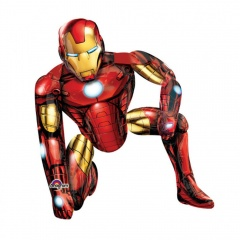 Balon folie figurina airwalker Iron Man - 93 x 116 cm, Marvel Avengers Assemble, Radar 110062